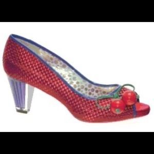 Poetic License Playland Red Cherry Heel
